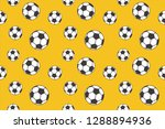 soccer ball pattern  ready to... | Shutterstock .eps vector #1288894936