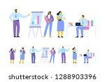 business meeting. teamwork.... | Shutterstock .eps vector #1288903396