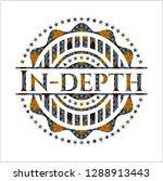 in depth arabic badge.... | Shutterstock .eps vector #1288913443