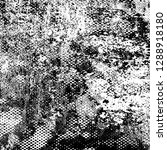 texture black and white grunge. ... | Shutterstock . vector #1288918180