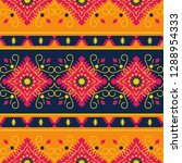 ethnic seamless pattern. tribal ... | Shutterstock .eps vector #1288954333