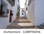 altea white village in alicante ... | Shutterstock . vector #1288956046