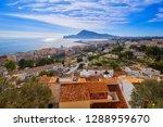 altea white village skyline in... | Shutterstock . vector #1288959670