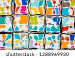 an abstract background of a... | Shutterstock . vector #1288969930