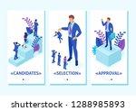 isometric template app... | Shutterstock .eps vector #1288985893