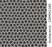 seamless irregular lines vector ... | Shutterstock .eps vector #1289041180