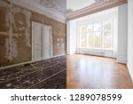 renovation concept   room in... | Shutterstock . vector #1289078599