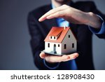 home insurance concept. | Shutterstock . vector #128908430
