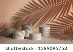 cosmetic background for product ... | Shutterstock . vector #1289095753