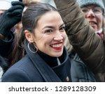 new york  ny   january 19  2019 ... | Shutterstock . vector #1289128309