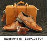 Men\'s Shoes  A Matching Belt...
