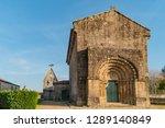 monastery of bravaes in ponte... | Shutterstock . vector #1289140849