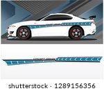 vinyls sticker decals for car...   Shutterstock .eps vector #1289156356