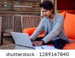 freelancing and remote work... | Shutterstock . vector #1289167840