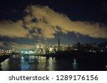 dramatic industrial landscape... | Shutterstock . vector #1289176156