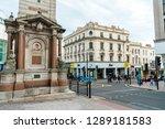 brighton  england 18 october... | Shutterstock . vector #1289181583