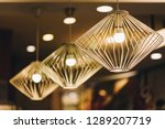 ceiling lights are beautiful...   Shutterstock . vector #1289207719