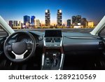 watching the night view of... | Shutterstock . vector #1289210569