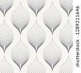 linear vector pattern ... | Shutterstock .eps vector #1289211646