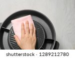 close up housewife hand... | Shutterstock . vector #1289212780