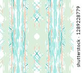 ikat batik print modern style ... | Shutterstock .eps vector #1289228779