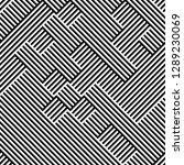 ratio between all black and... | Shutterstock .eps vector #1289230069