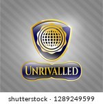 gold badge with international...   Shutterstock .eps vector #1289249599