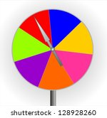 color game ilustration   Shutterstock . vector #128928260