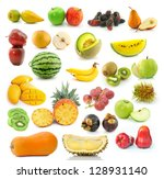 collection of fruit | Shutterstock . vector #128931140