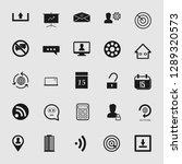 vector illustration of social... | Shutterstock .eps vector #1289320573