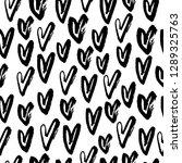 abstract seamless heart pattern....   Shutterstock .eps vector #1289325763