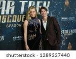 new york jan 17  actors rebecca ... | Shutterstock . vector #1289327440