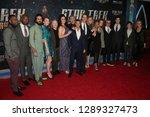 new york jan 17  the cast of ... | Shutterstock . vector #1289327473
