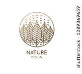 nature ornamental logo in... | Shutterstock .eps vector #1289369659