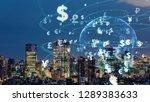 financial technology concept.... | Shutterstock . vector #1289383633