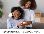excited african american... | Shutterstock . vector #1289387443