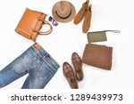 fashionable concept. set of men'... | Shutterstock . vector #1289439973