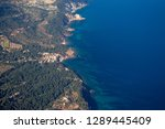 aerial view of mallorca coast... | Shutterstock . vector #1289445409
