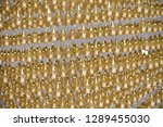 abstract photo of the golden... | Shutterstock . vector #1289455030