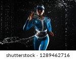 beautiful young girl in...   Shutterstock . vector #1289462716
