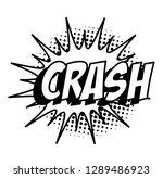 editable cartoon balloon text... | Shutterstock .eps vector #1289486923