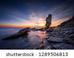 amazing sunset view of the... | Shutterstock . vector #1289506813