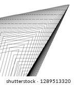 architecture building 3d  | Shutterstock .eps vector #1289513320