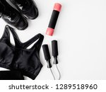 top view sport wear concept... | Shutterstock . vector #1289518960
