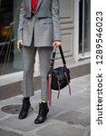 paris march 5  2018. street... | Shutterstock . vector #1289546023