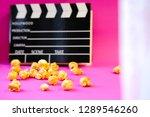 unfocused top view close up... | Shutterstock . vector #1289546260
