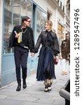 paris march 5  2018. street... | Shutterstock . vector #1289547496