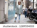 paris march 5  2018. street... | Shutterstock . vector #1289554033