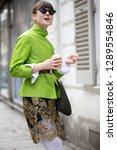 paris march 5  2018. street... | Shutterstock . vector #1289554846