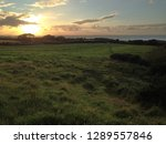 A View Across Grassland In...